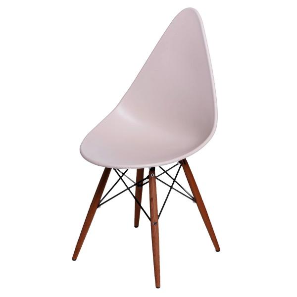 Krzesło D2 Rush DSW beżowe/dark DK-71139