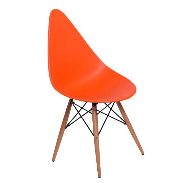 Krzesło D2 Rush DSW pomarańczowe DK-70536