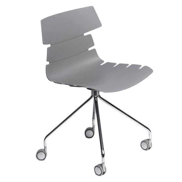 Krzesło D2 Techno Roll szare DK-63787