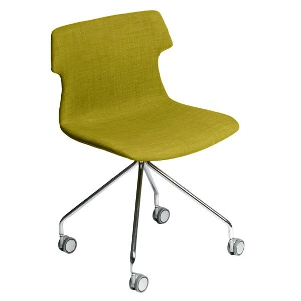 Krzesło D2 Techno Roll tap. oliwkowe DK-63807