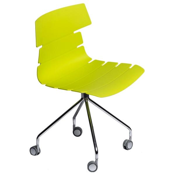 Krzesło D2 Techno Roll zielone DK-63792