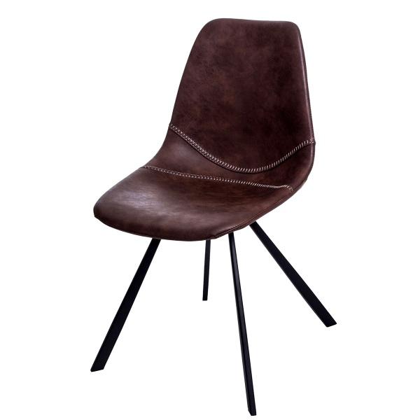Krzesło D2 Vincent M jasno brązowe DK-71169