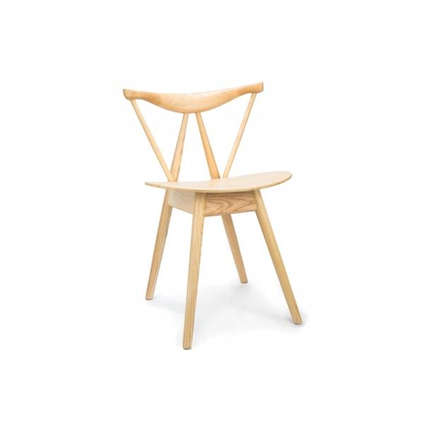 Krzesło drewniane King Bath Branch naturalne RU-WS-060.NATURAL