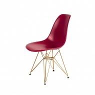 Krzesło DSR Gold King Home bordowy