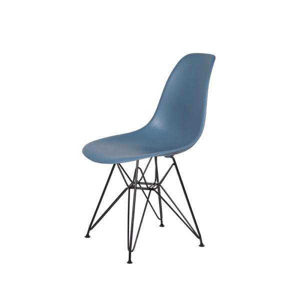 Krzesło DSR King Bath pastelowy niebieski K-130.SLATE.26.DSRB