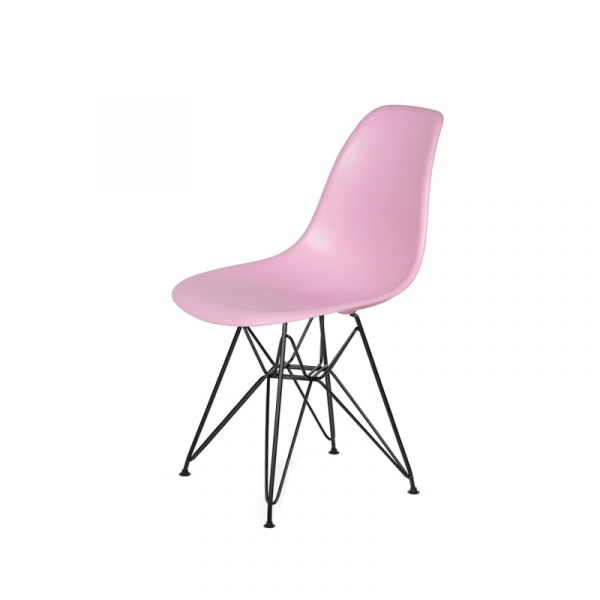Krzesło DSR King Bath pastelowy róż JU-K130.DSR.B.PINK.07