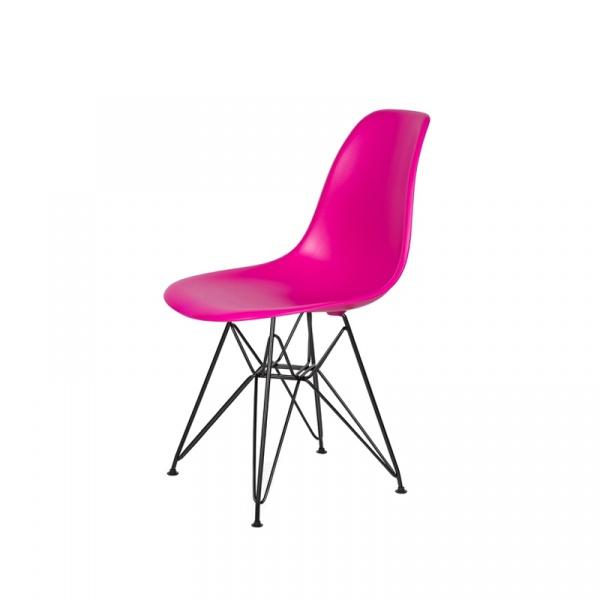Krzesło DSR King Bath wściekły róż JU-K130.DSR.B.DARK.PINK.22