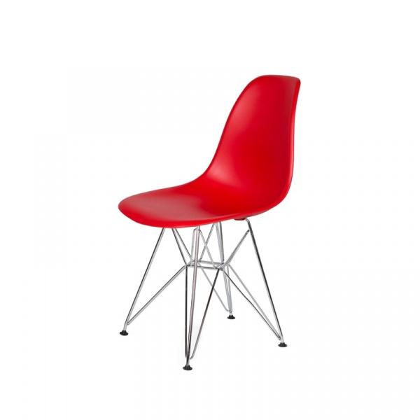 Krzesło DSR Silver King Bath krwista czerwień JU-K130.DSR.RED.06