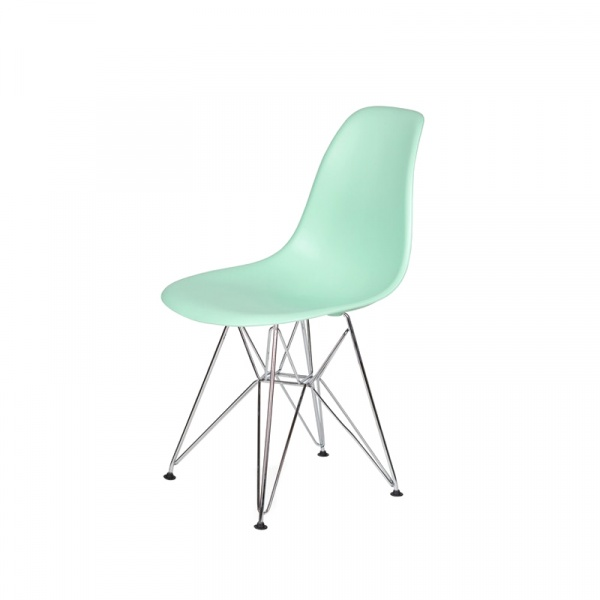 Krzesło DSR Silver King Bath pastelowa mięta JU-K130.DSR.LIGHT.GREEN.14