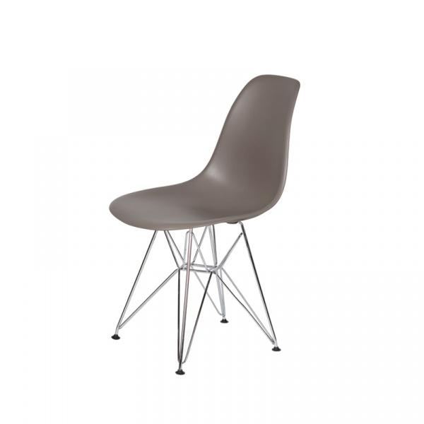Krzesło DSR Silver King Bath popielaty szary JU-K130.DSR.MILD.GREY.17