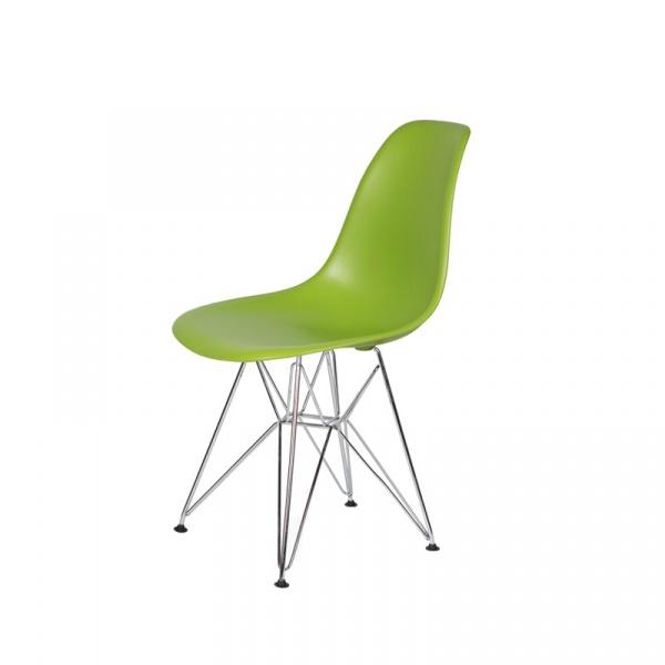 Krzesło DSR Silver King Bath soczysta zieleń K-130.GREEN.13.DSRB