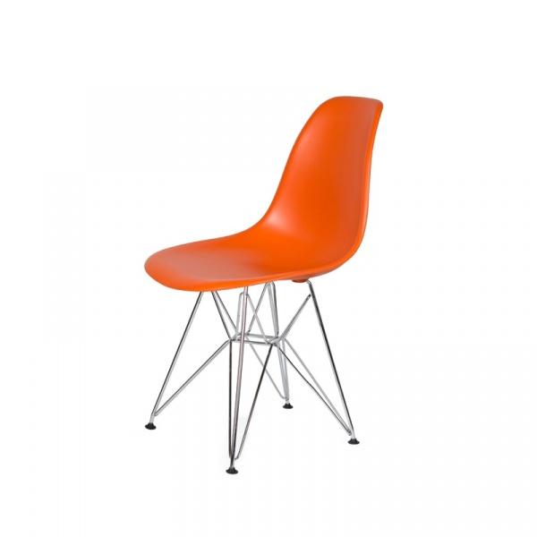 Krzesło DSR Silver King Bath sycylijski pomarańcz K.130.ORANGE.08.DSR