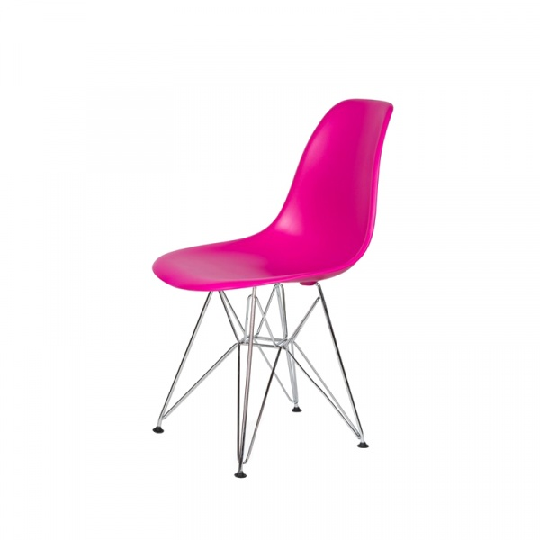 Krzesło DSR Silver King Bath wściekły róż JU-K130.DSR.DARK.PINK.22