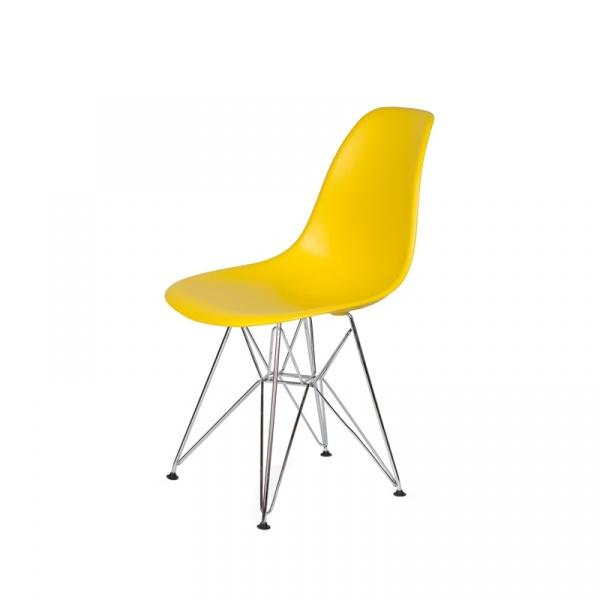 Krzesło DSR Silver King Bath żółty słoneczny JU-K130.DSR.YELLOW.09