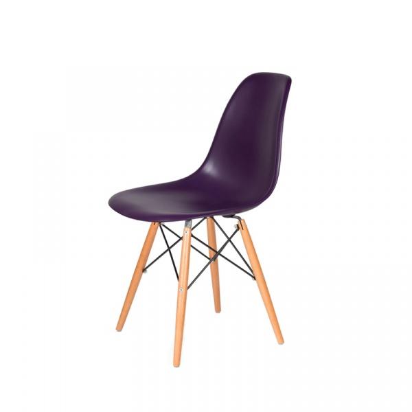 Krzesło DSW Wood King Bath fioletowa purpura K-130.PURPLE.39.DSW