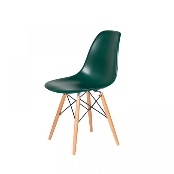 Krzesło DSW Wood King Bath myśliwski zielony JU-K130.DSW.DARK.GREEN.34