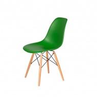 Krzesło DSW Wood King Home irlandzka zieleń