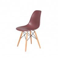Krzesło DSW Wood King Home koktajl malinowy