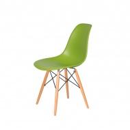 Krzesło DSW Wood King Home soczysta zieleń