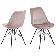 Krzesło Eris VIC różowe
