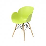 Krzesło Flower King Home zielony