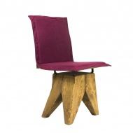 Krzesło Gie El Gont burgundy