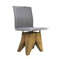 Krzesło Gie El Gont szare