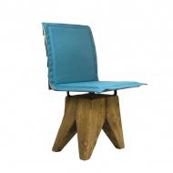 Krzesło Gie El Gont turkusowe