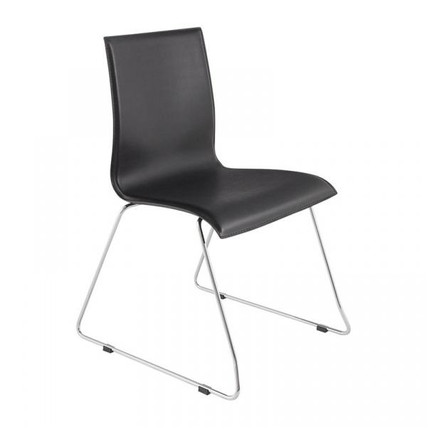 Krzesło Glasgow Kokoon Design czarny CH00150BL