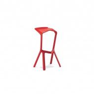 Krzesło/hoker King Home Miura czerwony