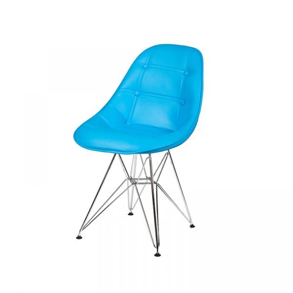 Krzesło King Bath DSR turkusowy LI-KK-132PU.M.JASNY_NIEBIESKI