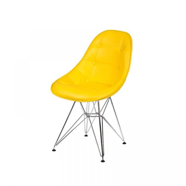 Krzesło King Bath DSR żółty słoneczny K-220PU.T22.DSR