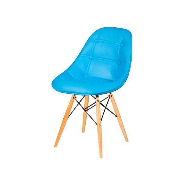 Krzesło King Bath DSW turkusowy LI-KK-132PU.JASNY_NIEBIESKI