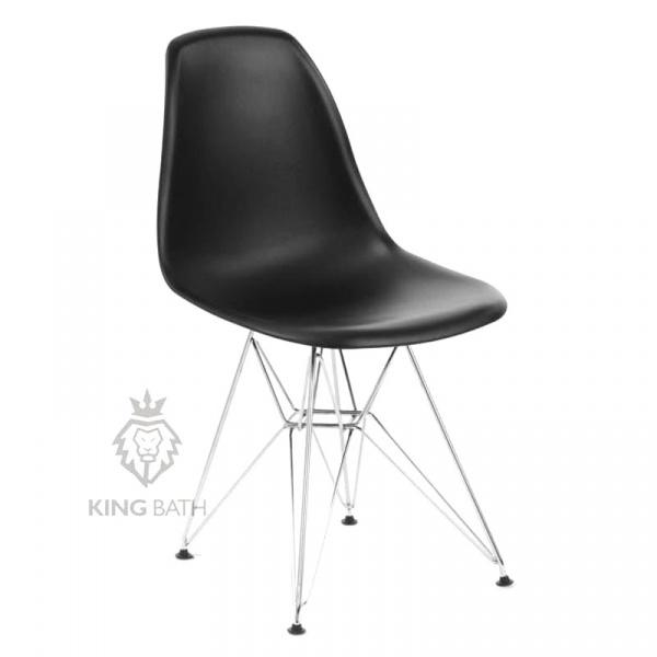 Krzesło King Bath Eames EPC DSR czarne K-130.BLACK.03.DSR