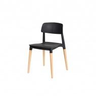 Krzesło King Bath Ecco czarne