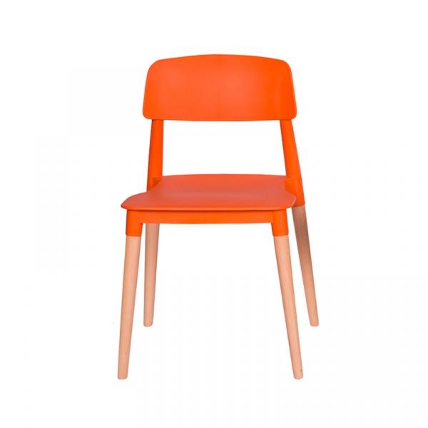 Krzesło King Bath Ecco pomarańczowe PW-018.POMARANCZOWY