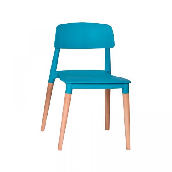 Krzesło King Bath Ecco turkusowe SI-KPW-018.TURKUSOWY