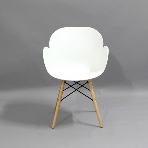 Krzesło King Bath Flower białe SI-FL-08W.BIALY
