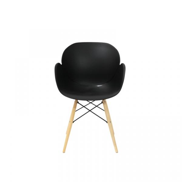 Krzesło King Bath Flower czarne SI-FL-08W.CZARNY