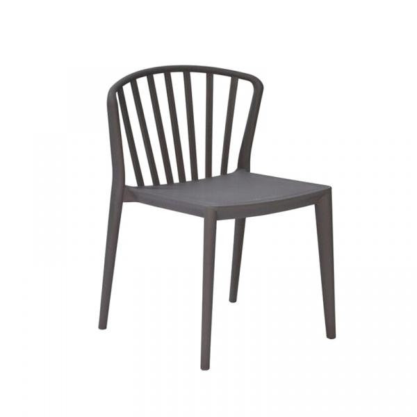 Krzesło King Bath Gamma szare CT-396.SZARY