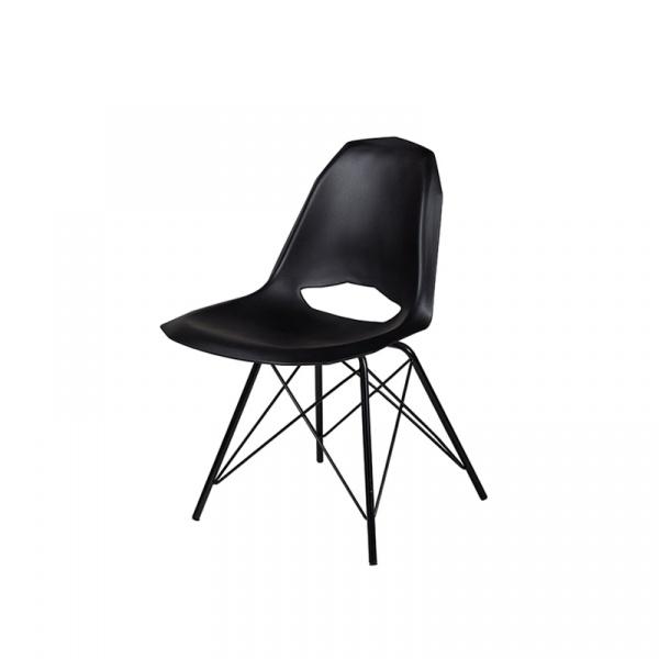 Krzesło King Bath Gular DSM czarny mat DO-035.DSM.CZARNY