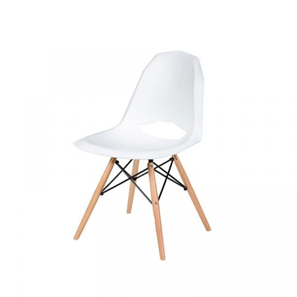 Krzesło King Bath Gular DSW biały mat DO-002.BIALY