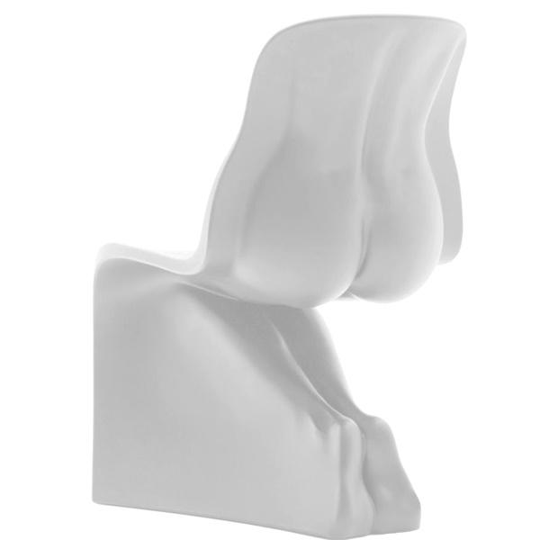 Krzesło King Bath Him biały połysk JH-072-2-HIM.BIALY