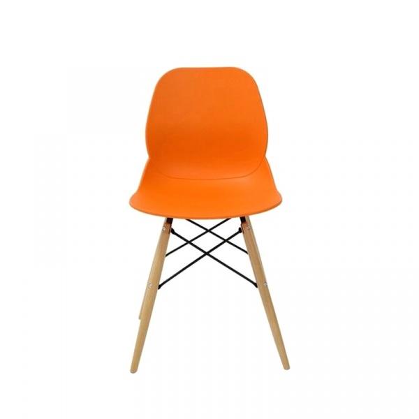 Krzesło King Bath Leaf DSW pomarańczowe PW-025.POMARANCZ