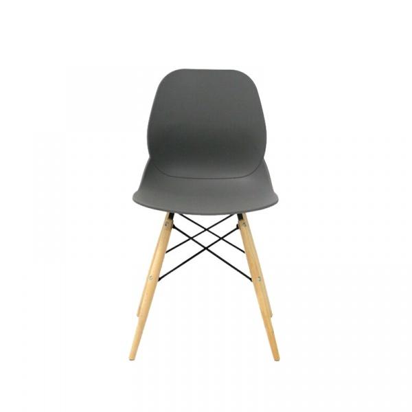 Krzesło King Bath Leaf DSW szare SI-KPW-025.SZARY