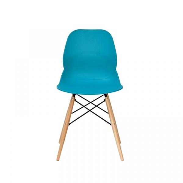 Krzesło King Bath Leaf DSW turkusowe SI-KPW-025.TURKUSOWY