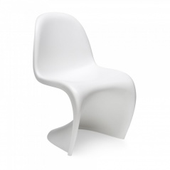 Krzesło King Bath Panton białe