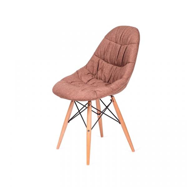 Krzesło King Bath Rugo brązowe K-223.DS10.BRAZOWY