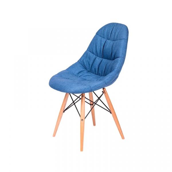 Krzesło King Bath Rugo niebieskie LI-K223.DS03.BLUE