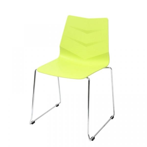 Krzesło King Bath Shark zielone SI-K-LEAF02.ZIELONY